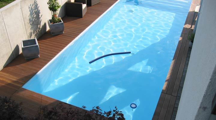 Salzwasser garten pool in bregenz vorarlberg - Pool salzwasser ...
